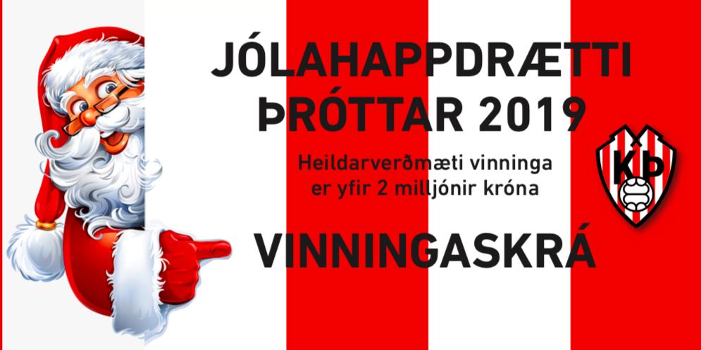 Jólahappdrættið 2019 – Vinningaskrá