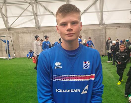 Hinrik Harðarson í æfingahóp U16